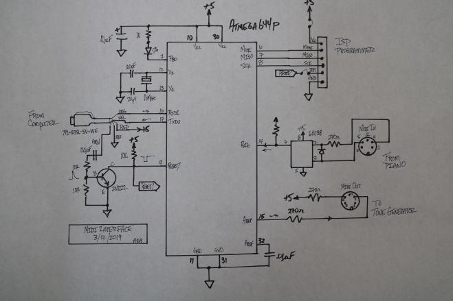 Midi Interface Schematic – SIDEMAN by Pro-piano com (non-profit)